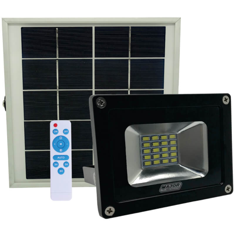 10w Solar Power Led Floodlight Major Tech