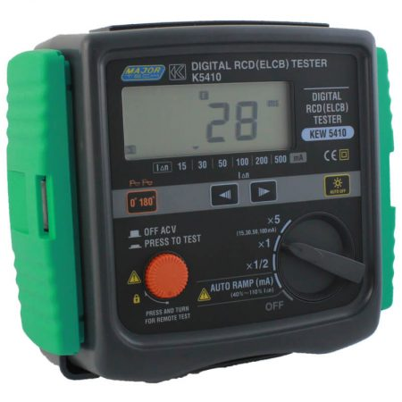 Industrial Digital RCD/ELCB Tester
