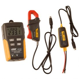 True RMS Voltage and Current Logger